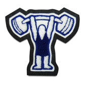 Weightlifter (Plain) Sports Patch