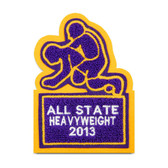 Wrestling Sports Patch