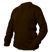 Brown Letterman Sweater