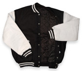 Black and White Varsity Letterman Jacket (Sale)