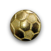 Members of the soccer team can pin these varsity soccer pins to their chenille letter.