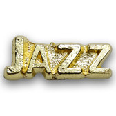 Jazz Varsity Letter Pin