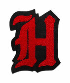 Single Felt Old English Varsity Letter H