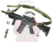 AR-15 and SIG-556 URBAN-SENTRY Hybrid sling with necessary sling mounts.