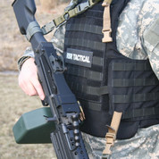 M-249 Squad Automatic Weapon One Point SIM Sling Kit with Weapons Catch
