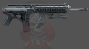 SIG-556 SWAT SIDE FOLDER ONE POINT SLING Complete Kit