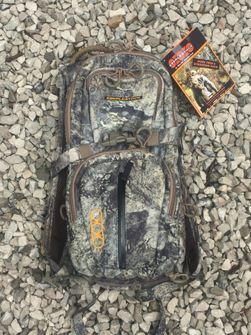 This is the actual back pack in Hide Open Rock Veil that you will be getting.