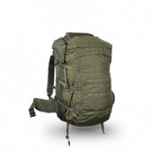 This photo shows an additional not included Spike Duffel Bag sandwiched in between the pack and the carrier.  The Spike Duffel is not included.