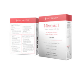 NutraStim Minoxidil Hair Regrowth Treatment 5% for Men