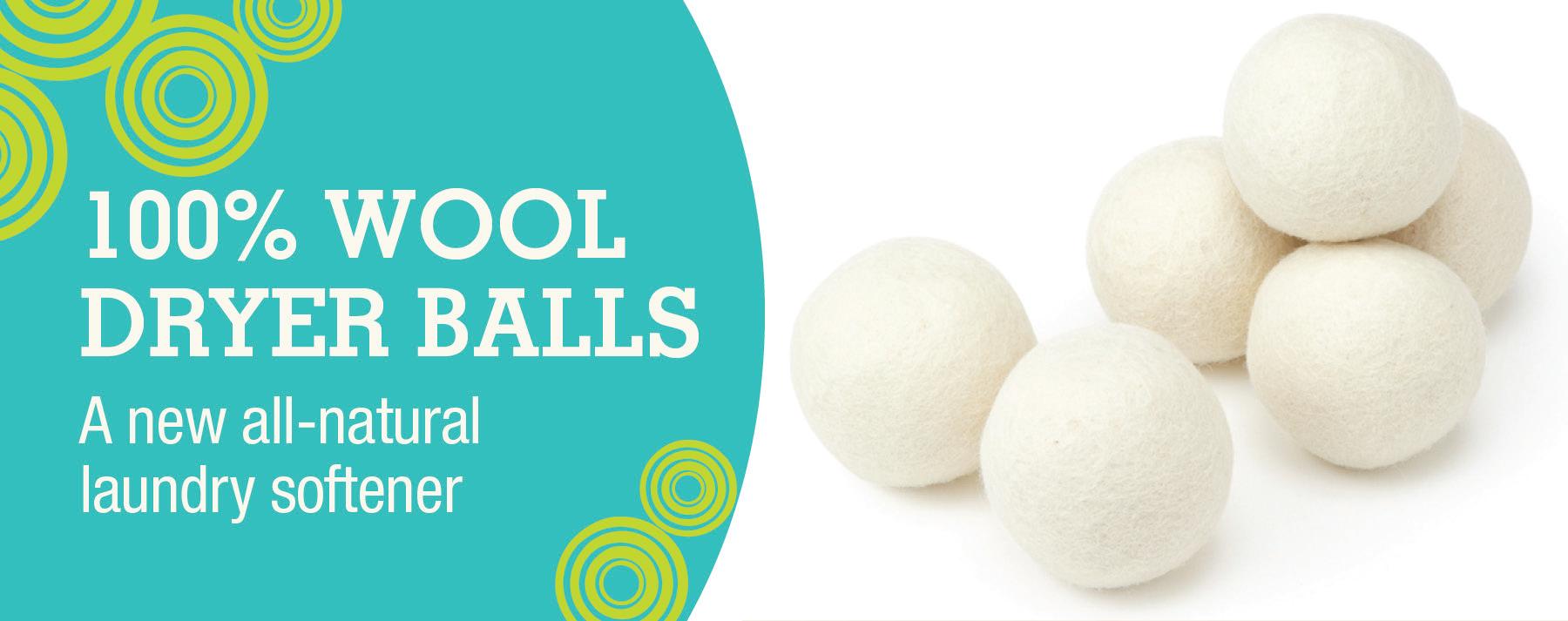 wholesale wool dryer balls