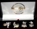 9th Anniversary Hard Rock Cafe Nagoya 2006 Group KISS Pins Set