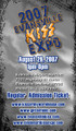 2007 Evansville KISS Expo Regular Admission Ticket