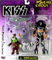 Paul Stanley Psycho Circus Mcfarlane Figure with The Jester Figure