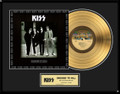 KISS Dressed To Kill 24KT Gold LP Record Award
