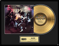 KISS Alive! 24KT Gold LP Record Award