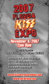 2007 Florida KISS Expo Regular Admission Ticket
