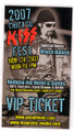 2007 Chicago KISS Expo VIP Ticket
