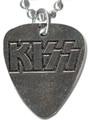 Guitar Pick Metal Necklace