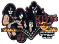 KISS Hard Rock Cafe Hotter Than Hell Pin Citywalk Osaka