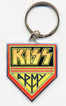 KISS Army Logo Metal Keychain