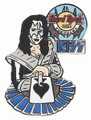 Hard Rock Cafe Yokohama 2005 KISS Ace Frehley with Cards Pin