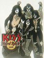 Hard Rock Cafe Stockholm 2006 KISS Group Pin