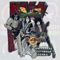 KISS Hard Rock Cafe Stage Pin Osaka Citywalk