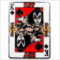 KISS Hard Rock Cafe Pin Gene Simmons Card Series 2004