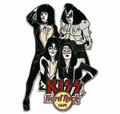 KISS Hard Rock Cafe Pin Group GOAL 2006