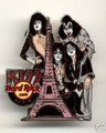 KISS Hard Rock Cafe Pin Group PARIS Eiffel Tower