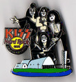 KISS Hard Rock Cafe Pin Belo Horizonte Church