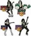 KISS Hard Rock Cafe Pin Group SLAM 2006 SET