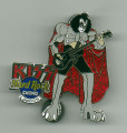KISS Hard Rock Cafe London Casino Gene Simmons Pin