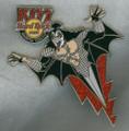 KISS Hard Rock Cafe Pin Narita Tokyo Gene Simmons BOLT