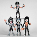KISS Bendies Set of 4