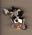 Hard Rock Cafe 04 Fantasy Axe Gene Simmons Kiss Pin
