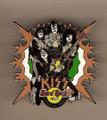 Hard Rock Cafe 05 Group Catania Italy Kiss Pin
