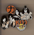 Hard Rock Cafe 05 Fukuoka Psycho Circus Group Kiss Pin