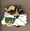 Hard Rock Cafe 05 CLOUDS Peter Criss Kiss Pin
