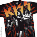 KISS Live in Japan Large Print Tshirt