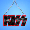 KISS Logo Resin Christmas Ornament