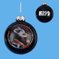 Gene Simmons Hand Crafted Glass Christmas Ornament