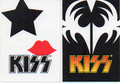 KISS Him and Her Scratch N Sniff Sticker Set