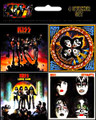 KISS 4 Album Sticker Set