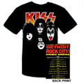 Cobo Hall Last Show Event Tshirt with Eric Singer Lakers Guitar Pick