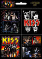 KISS 4 Sticker Set