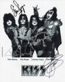 KISS Alive 35 Signed Promo Photo #3