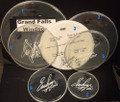 2011 Hottest Show On Earth Tour Grand Falls Windsor Show Used Drumheads