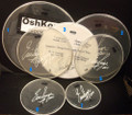 2011 Hottest Show On Earth Tour Oshkosh Show Used Drumheads
