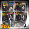 KISS RETRO Love Gun 8 Inch Action Figures Series 1